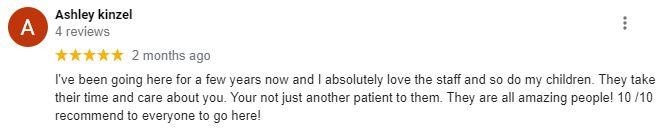 Chiropractic Irwin PA Patient Testimonial