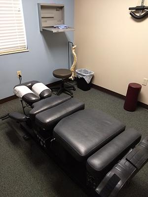 Chiropractic Irwin PA Treatment Room