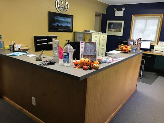 Chiropractic North Huntingdon PA Reception Area